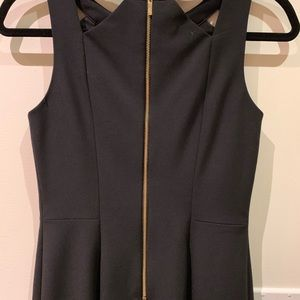 Eliza J Dresses - Solid Sheath dress with cut-out neckline
